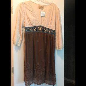 Dresses & Skirts - Brand new with tags Dejavu brown dress